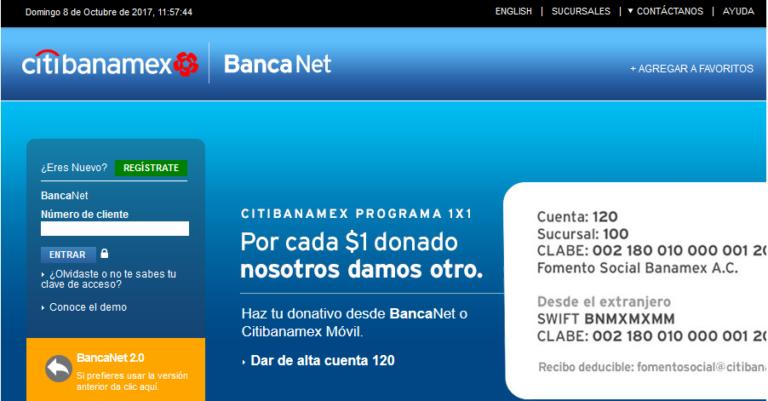 no puedo descargar estados de cuenta banamex