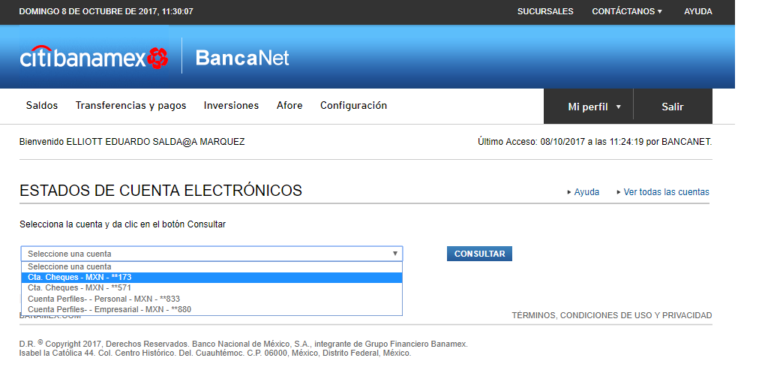 descargar estados de cuenta desde bancanet banamex