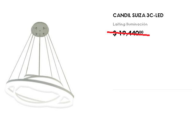 Candil Suiza