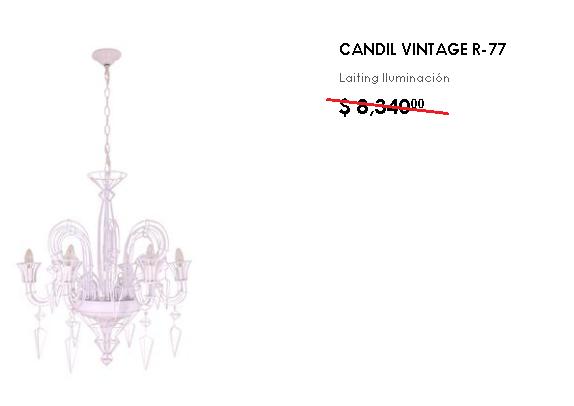 Candil Vintage