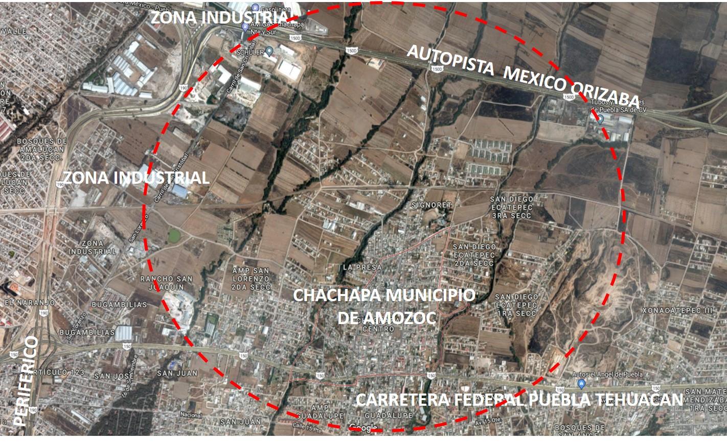 Venta de Terreno en Chachapa Amozoc