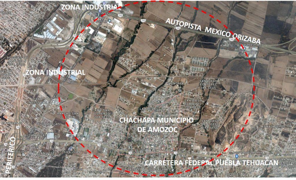 Terreno en Venta Chachapa Amozoc edo Puebla